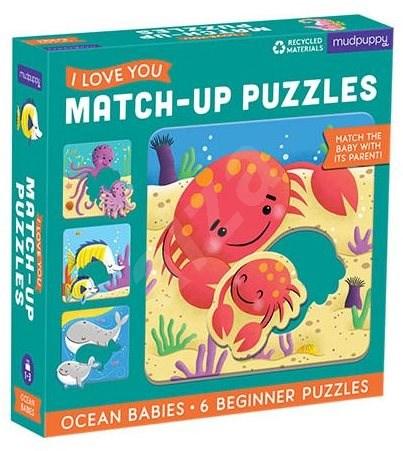 Match-Up Puzzle - Mláďata z oceánu  - Puzzle