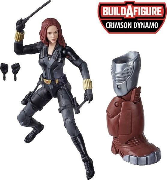 Avengers sběratelská řada Legends Black Widow - Figurka