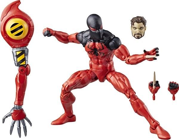 Spiderman sběratelská řada Legends  Scarlet Spider - Figurka