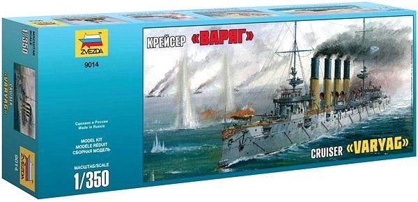 "Model Kit loď 9014 - Russian Cruiser ""Varyag"" - Model lodě"