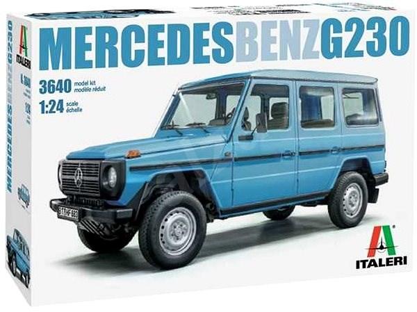 Model Kit auto 3640 - Mercedes Benz G230 - Model auta