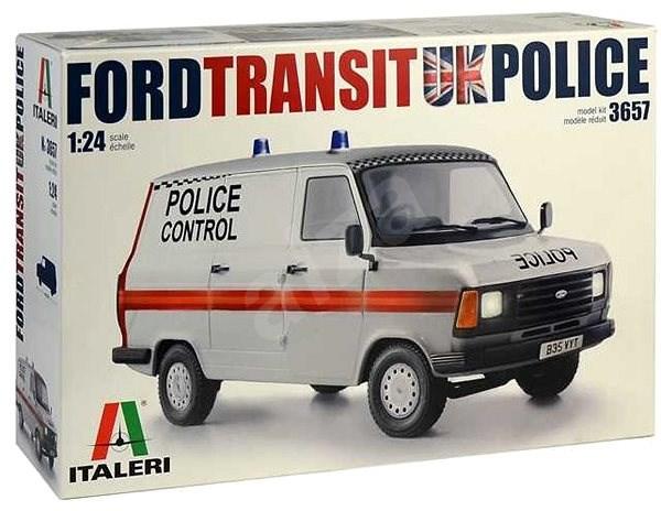 Model Kit auto 3657 - Ford Transit Uk Police - Model auta
