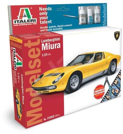 Model Set auto 72002 - Lamborghini Miura - Model auta