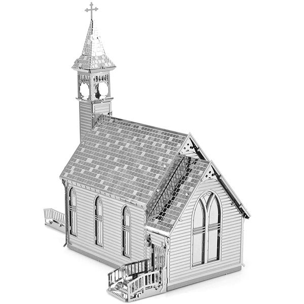 Metal Earth 3D puzzle Starý kostel - 3D puzzle