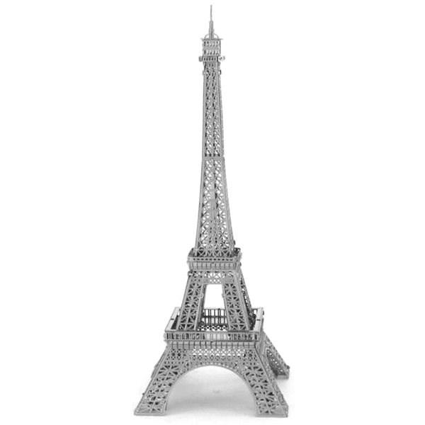 Metal Earth 3D puzzle Eiffelova věž (ICONX) - 3D puzzle