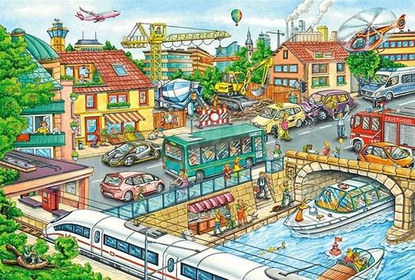 Schmidt Puzzle Dopravní prostředky 60 dílků - Puzzle