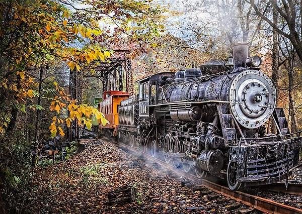 Schmidt Puzzle Okouzlující železnice 1000 dílků - Puzzle