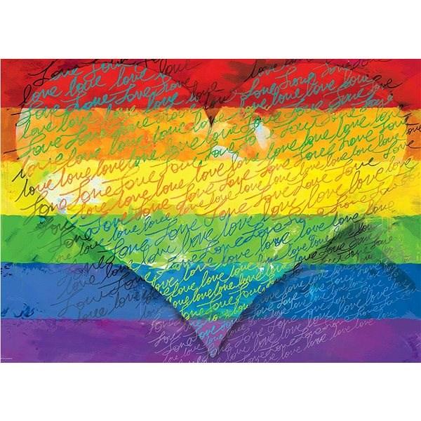 Eurographics Puzzle Láska a hrdost 1000 dílků - Puzzle