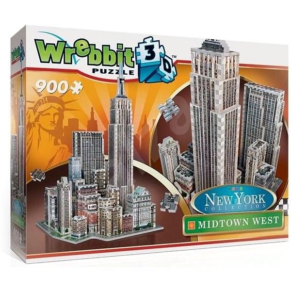 Wrebbit 3D puzzle New York Midtown West 900 dílků - 3D puzzle