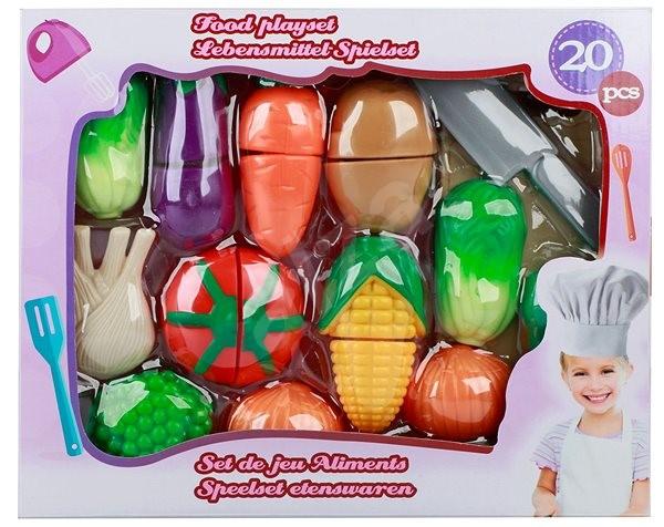 Krájecí zelenina s doplňky - Herní set