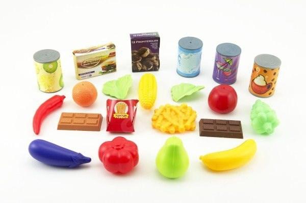 Fast food Burger s doplňky - Herní set