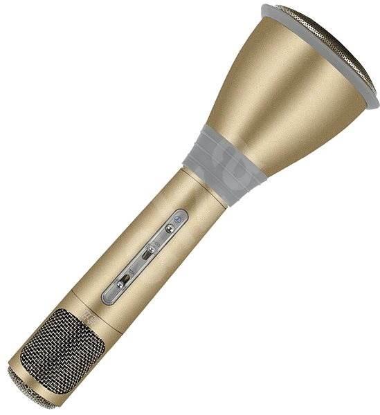 Eljet Karaoke Mikrofon Advanced zlatý - Mikrofon