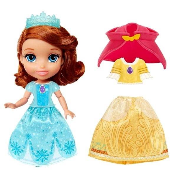 Sofie První: Panenka s šaty a doplňky (NOSNÁ POLOŽKA) - Panenka
