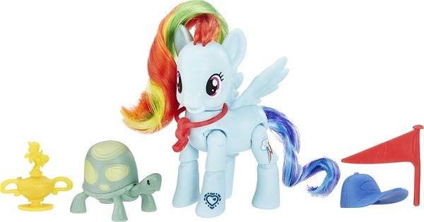 My Little Pony Poník a doplňky Rainbow Dash - Figurka