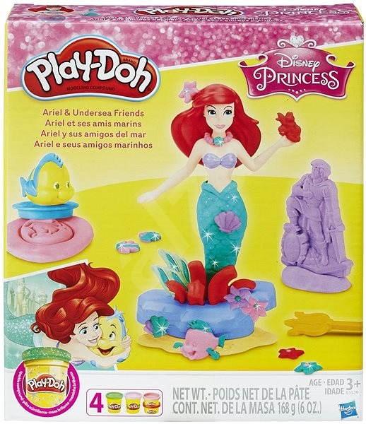 Play-Doh Disney Princess Ariel a kamarádi - Modelovací hmota