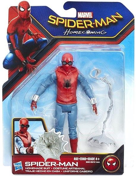 Spiderman Figurka Spiderman Homemade suit - Herní set