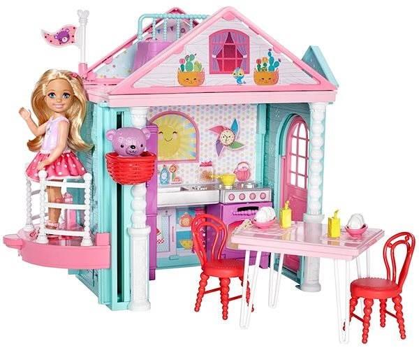Barbie Chelsea a Domeček - Panenka