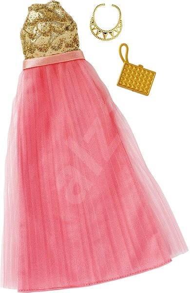 b158a5865 Mattel Barbie Šaty s doplňky – světle krémové - Příslušenství k panence