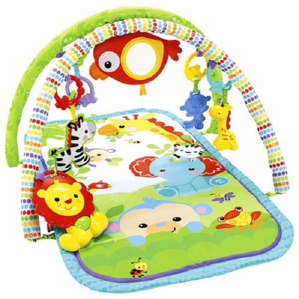 Fisher-Price Hrací dečka Rainforest Friends - Hrací deka