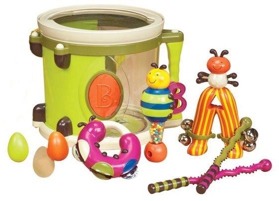 B-Toys Bubínek Parum Pum Pum - Hudební hračka