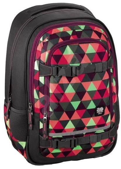 Hama All Out Selby Backpack Happy Triangle - Školní batoh  09a2814316