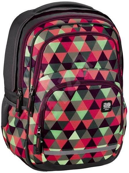 Hama All Out Blaby Happy Triangle - Školní batoh  1d10105731