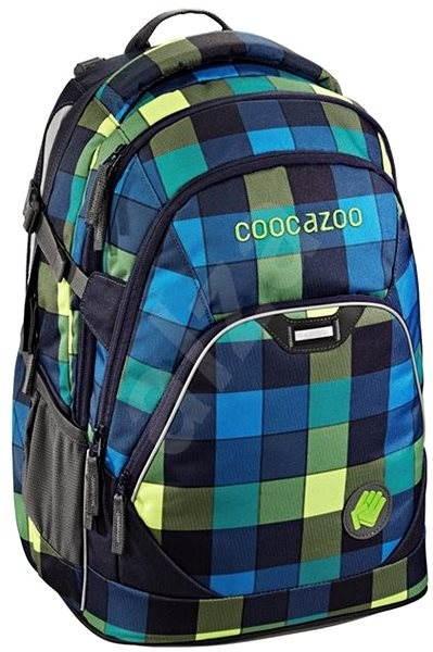 CoocaZoo EvverClevver2 Backpack Lime District - Školní batoh  9fc4e594a4