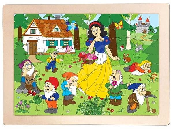 Woody Puzzle Sněhurka - Puzzle