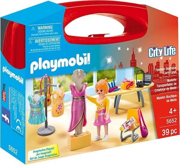 Playmobil 5652 Přenosný box - Prodavačka v butiku - Stavebnice