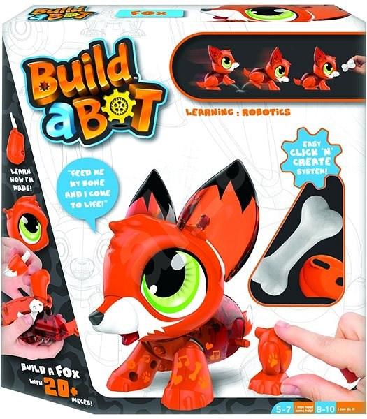 Build A Bot Liška - Interaktivní hračka