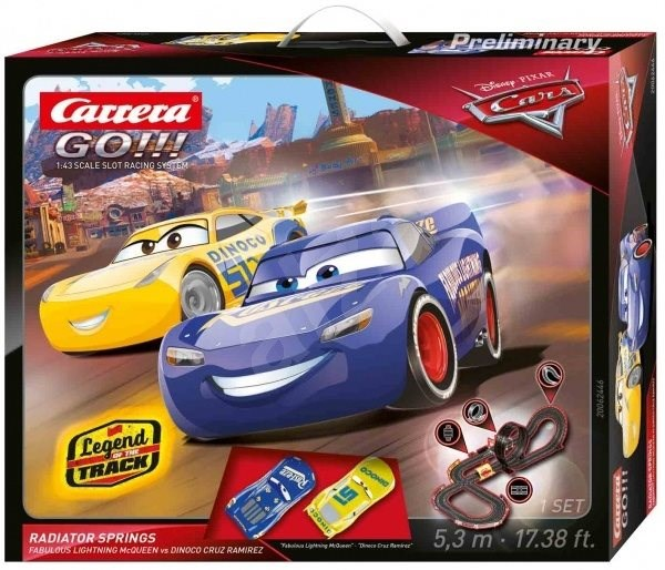 Carrera GO 62446 Cars 3 - Radiator Springs - Autodráha