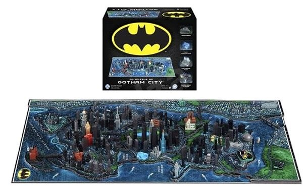 4D Batman Gotham City - Puzzle