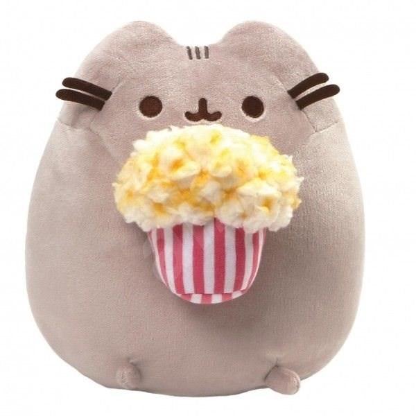 Pusheen s popcornem - Plyšák