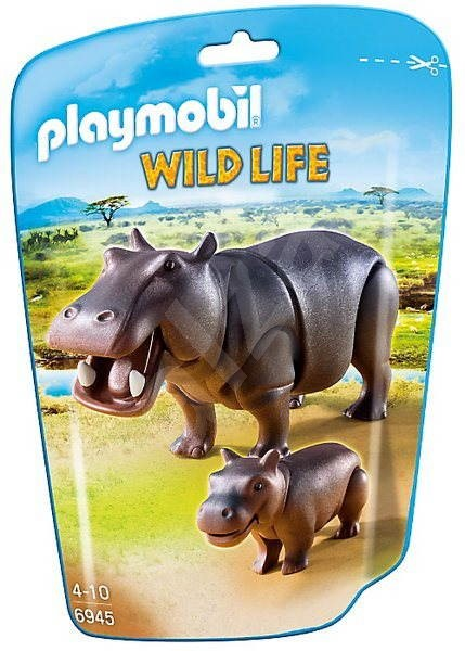 Playmobil 6945 Hroch s mládětem - Figurky