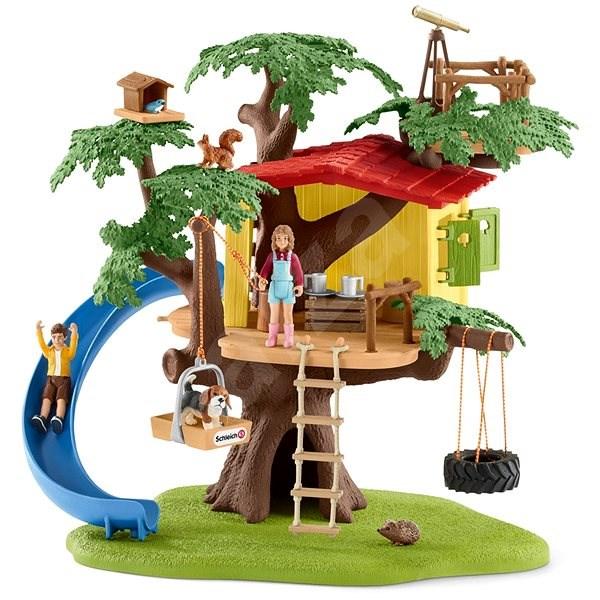 Schleich 42408 Dům na dobrodružném stromě - Herní set