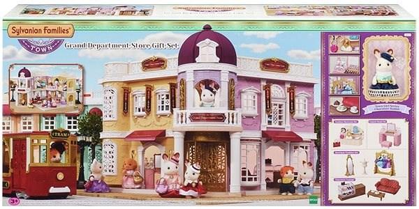 Sylvanian Families Město dárkový set velký obchodní dům - Herní set