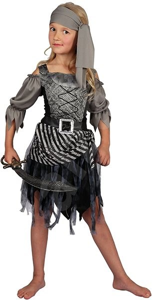 Kostým Pirátská dívka vel. L - Dětský kostým  fe25241c840