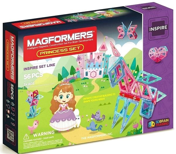 Magformers Princess - Magnetická stavebnice