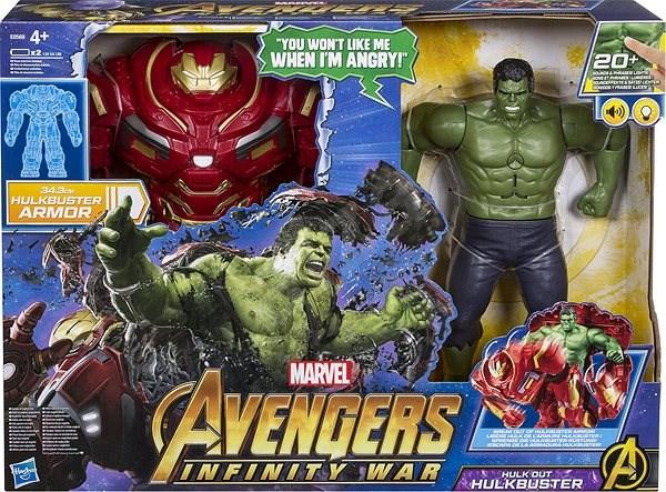 30087513c Avengers Hulk a Hulkbuster - Figurka | Alza.cz
