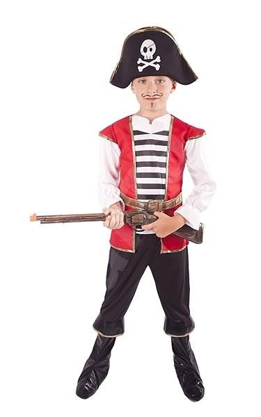 Kostým Pirát s kloboukem vel. L - Dětský kostým  78f1e01da5c