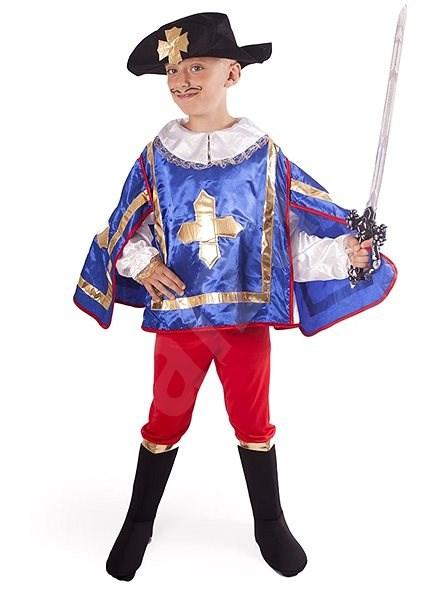Kostým Mušketýr modrý vel. S - Dětský kostým  4776154c309
