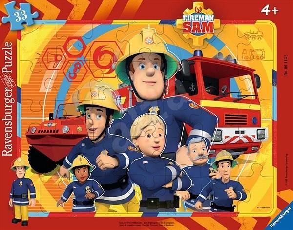 Ravensburger 061143 Požárník Sam - Puzzle
