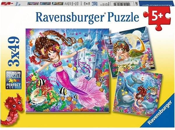 Ravensburger 080632 Mořské víly - Puzzle
