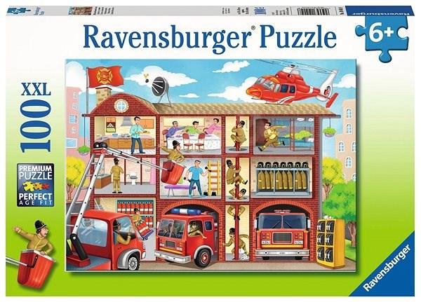 Ravensburger 104048 Poplach u hasičů - Puzzle