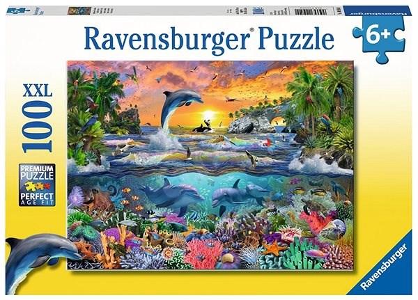 Ravensburger 109500 Tropický ráj - Puzzle
