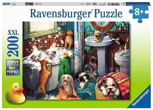 Ravensburger 126675 Psí koupel - Puzzle
