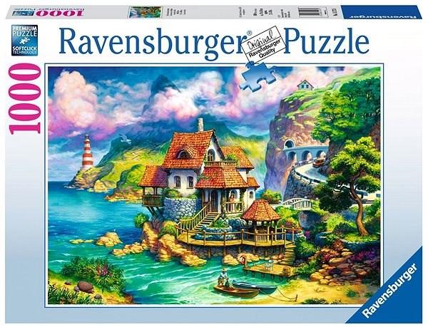 Ravensburger 152735 Dům na útesu - Puzzle