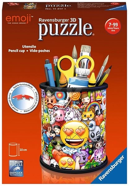 Ravensburger 112173 Emoji Pencil Cup - Puzzle