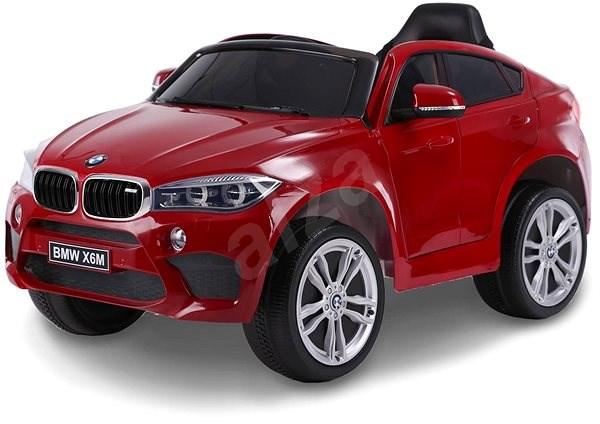 BMW X6M NEW - jednomístné, červené lakované - Dětské elektrické auto