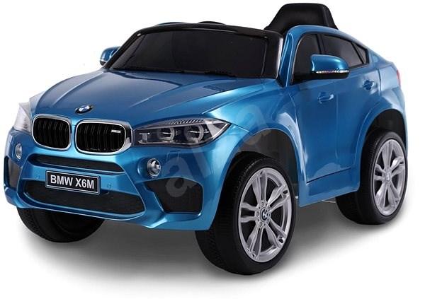 BMW X6M NEW - jednomístné, modré lakované - Dětské elektrické auto